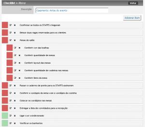 checklist para gestão de eventos