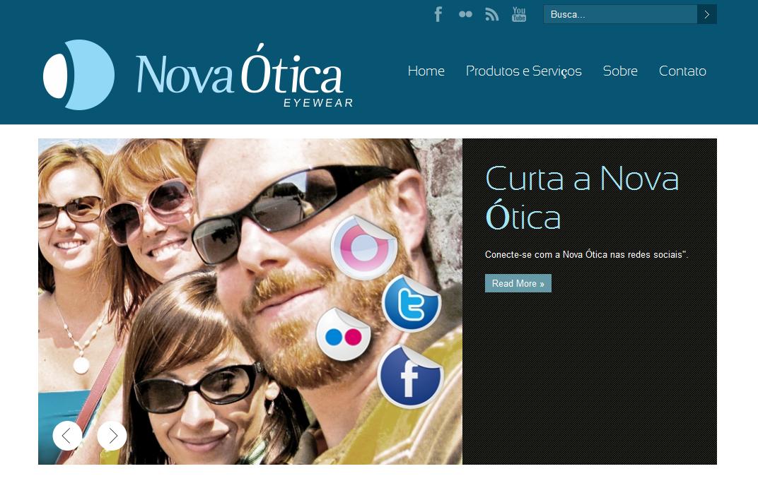 Nova Ótica Piracicaba - eCliente Tecnologia da Informação 1082be3954