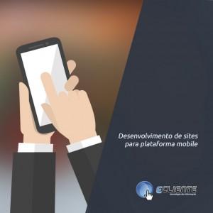 site para plataformas mobile ou responsivos