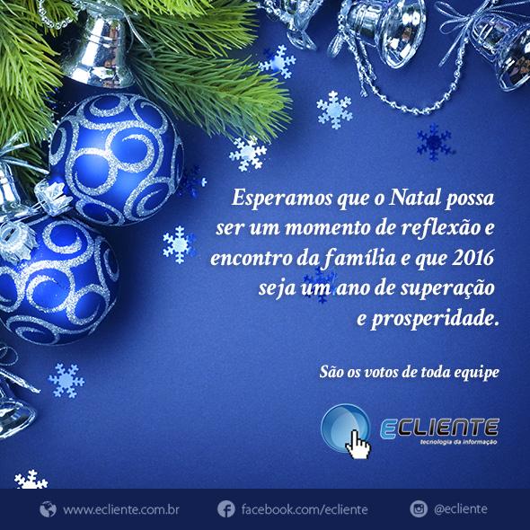 cartao de natal ecliente 2015